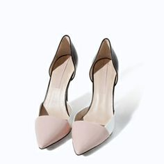 Zara - Leather high heel shoe – Rs. 5,990/-