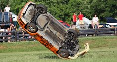 Rollover that car!