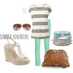 """summer loving"" by cmboulware2 on Polyvore"