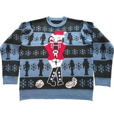 The Nutcracker Adult Ugly Christmas Sweater - 389881 | trendyhalloween.com