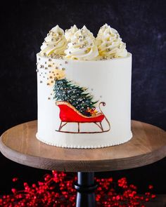 Best Christmas Cakes 2021 120 Christmas Cakes Ideas In 2021 Christmas Cake Winter Cake Cupcake Cakes