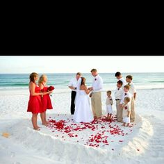 Think Of This For The Future Small Wedding On Beach