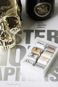 haute + cool designer chocolates.