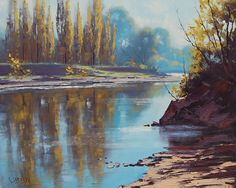 Morning Tumut River by Graham Gercken