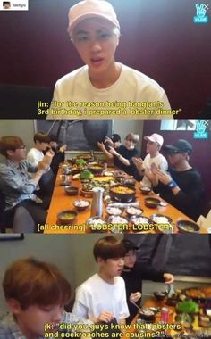 Bts: kook . were trying to eat here