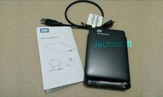 """HDD Case / Enclosure 2,5"""" WD Element USB 3.0, transfer data lebih cepat dengan USB 3 dan koompatible ke USB 2.. Bikin HDD eksternal bikinan kamu kaya pabrikan.. Beli bisa langsung wa/sms 0878-8301-0079 atau mampir ke Tokopedia Jechosoft"""