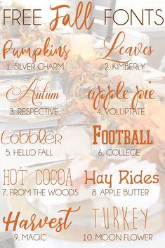 Thanksgiving Fonts, Fall Fonts, Cricut Explore Projects, Calligraphy Fonts, Cursive Fonts, Handwritten Fonts, Typography Fonts, Font Combinations, Cricut Craft Room