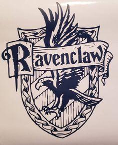 Ravenclaw Crest Vinyl Decal