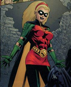 Stephanie Brown, perhaps (in my opinion) the least known Robin. Better known as one of those who took the moniker of Batgirl, or as the Spoiler. Batgirl And Robin, Dc Batgirl, Batwoman, Nightwing, Robin Girl, Red Robin, Robin Dc, Timothy Drake, Robin Tim Drake