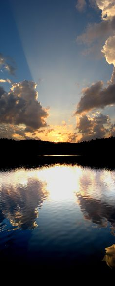 Wolf Lake Sunrise, Temagami, Ontario by Rob Nelson Photography