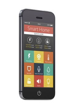 Wohnzukunft: Sweet Smart Home Smart Tv, Smart Home, Real Tv, Talking On The Phone, Tv Remote Controls, Android Smartphone, Televisions, Tvs, New Technology