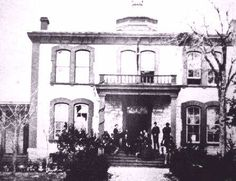 Austin, TX, Arno-Novotny House (formerly TX Institute for the Blind). GAC used this as his headquarters 1865-66.