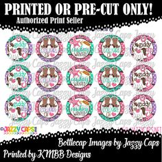 Printed  Precut: GIDDY UP  Cowgirl at Heart  Cowboy by KMBBDesigns