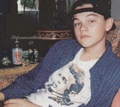 Leonardo DiCaprio in 1992 Leo Decaprio, Leonardo Dicapro, Beautiful Boys, Beautiful People, Young Leonardo Dicaprio, Best Actor, Titanic, Models, Pretty People