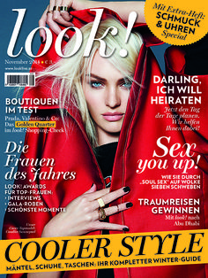 Unsere November-Ausgabe ist da! Valentino, Candice Swanepoel, Boutique, Cover, Movie Posters, Magazines, November, Getting Married, First Aid
