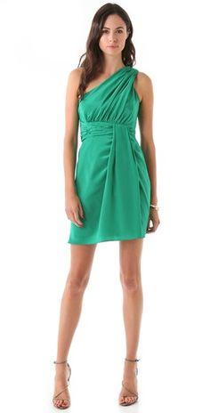 Nadalia One Shoulder Dress