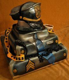J*Kakery POLICE CAKE By JKakery on CakeCentral.com (@Racheal Jones, MJ?)