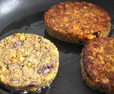 Recette steaks de légumes par carmelyane - recette de la catégorie Plats végétariens