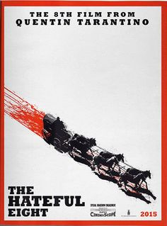 Poster and stills for director Quentin Tarantino's The Hateful Eight, starring Samuel L. Jackson