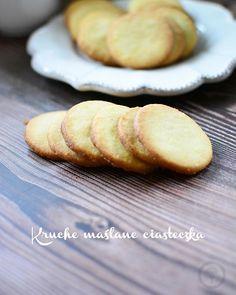 Najprostsze na świecie kruche ciasteczka z marmoladą - Calzonella.com Feta, Bread, Blog, Turmeric, Brot, Breads, Blogging, Bakeries