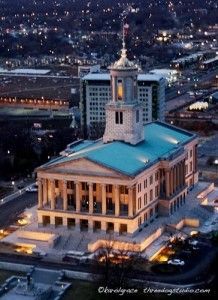 #Tennessee State Capitol in #Nashville