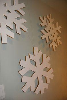 How to make giant snowflakes