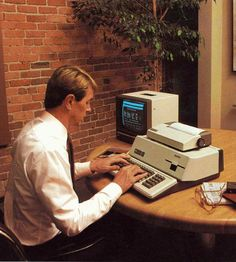 Apple III Computer Poster Print Technician Gift Computer Decor IT Tech Gift