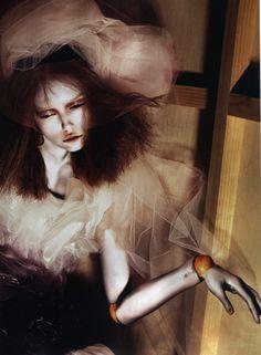 """""""I'm a Marionette"""". Vlada Roslyakova by Mert & Marcus for Pop #15, Spring/Summer 2007.08"""