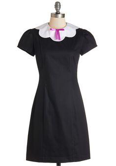 Scallop and Coming Dress | Mod Retro Vintage Dresses | ModCloth.com
