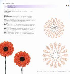 100 Lace Flowers to Crochet. Обсуждение на LiveInternet - Российский Сервис Онлайн-Дневников