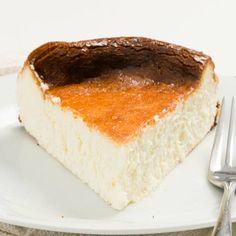 EASY Basque Burnt Cheesecake Creme Brulee, Cupcakes, Blueberry, Cheesecake, Cream, Desserts, Easy, Wordpress, Food