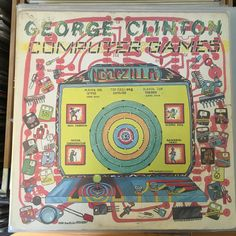 Vinyl Wednesday: GEORGE CLINTON - COMPUTER GAMES #vinyl #vinylwednesday #georgeclinton #pfunk #funk