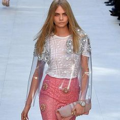 beautiful embellishments from Burberry Prorsum ss14