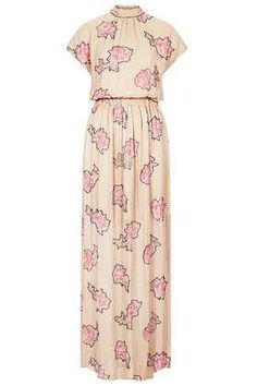 **LIMITED EDITION Rose Embellished Maxi Dress from Topshop #poachit