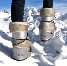 Moon Boot for Jimmy Choo...omggggg i'm in love