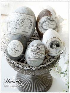Ostern: selbstgemachte Oster- und Frühlingsdeko ♥