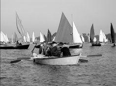 Les deux « tiniols » d'En Arvoriz ont participé jeudi à la navigation parmi la flottille voile-aviron, de Vannes à l'île d'Arz, et retour vers Arradon