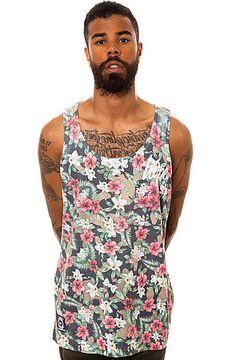 هههههههههه اعققققب ،، تخيلوا صج يلبسون جذي عندنا HYPE Clothing Tank Top Camo Flower Multi