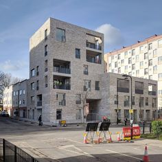 Happy to see our Regent's Park scheme stripped of scaffolding and out in the sunshine! New addition to Varndell Street by Mae