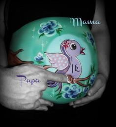 www.facebook.com/Ankebellypaint  Bellypainting Bump Painting, Pregnant Belly Painting, Belly Art, Belly Bump, Plaster Art, Future Mom, Face Painting Designs, Baby Belly, Baby Winter