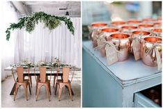 Copper Wedding Decor - Your Inspiration Palette