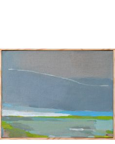 """Oil on true gesso panel, hand framed by artist.  13"""" x 10""""  Origin: Berkeley, California  Condition: NEW  Originally from Denmark, where she spent the first 25 years of her life, Karen Smidth now lives and works in Berkeley. Describing her own work as """"expressionism with small hints of abstraction"""", she draws on her observations, memory and imagination to create her gorgeous landscapes.  All art sales are final. Art only available to ship within the United States."""
