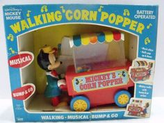 Mickey Mouse Walking Corn Popper - One of my first ever toys.