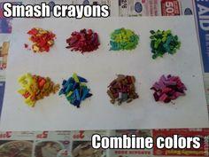 Silicone Mold Crayons