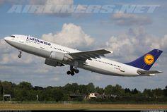 Lufthansa D-AIAU Airbus A300B4-603 aircraft picture