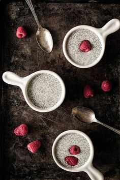 """Vanilla Chia Pudding...and also answers the question """"what the heck are chia seeds doing in food lately?!"""" Looks delicious!"""