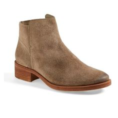 Women's Tory Burch 'Riley' Suede Ankle Boot ($380) ❤ liked on Polyvore