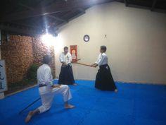 Treino com Sensei Luiz Fernando de bukiwaza