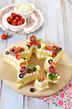 Appetizer Recipes, Snack Recipes, Cooking Recipes, Snacks, Sweet Recipes, Cake Recipes, Number Cakes, Sweet Tarts, Food Humor
