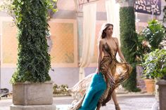 Elisa Sednaoui for the Roberto Cavalli #Parfum commercial! #AdCampaign #Backstage